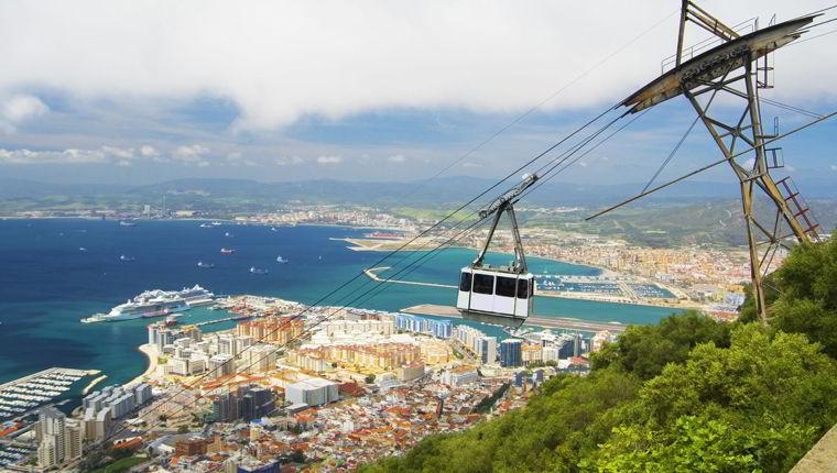Cruceros por Gibraltar, Reino Unido