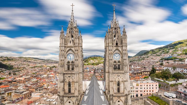 Cruceros por Quito, Ecuador