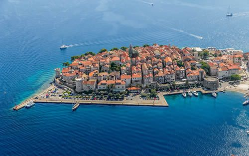 Walking Tour of Korčula Island