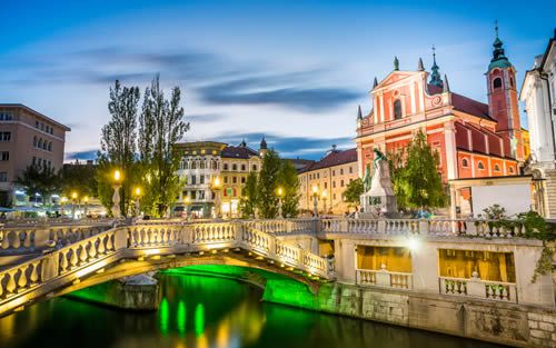 Capital City, Ljubljana - Slovenia