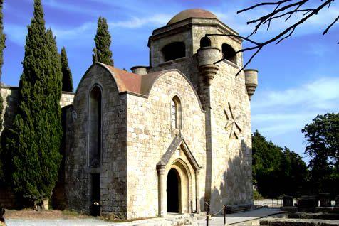 Filerimos Monastery, Rhodes