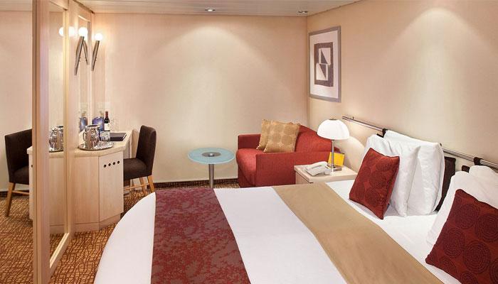 Cruceros Celebrity Cruises, Habitación Interior
