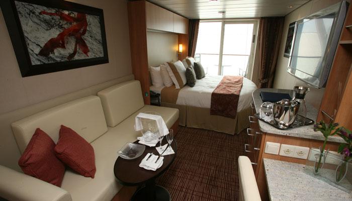 Cruceros Celebrity Cruises, Habitación Aqua Class
