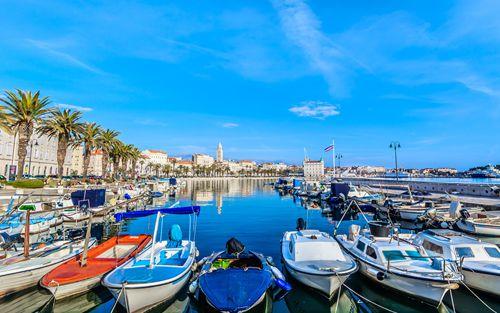 Embarkation in Split