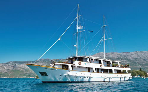 Disembark in Split