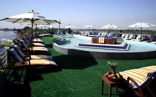 Disembark in Luxor