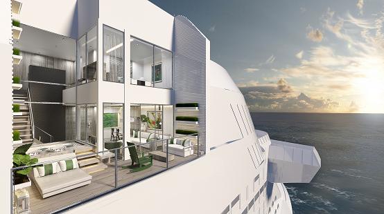 Celebrity Apex Villa suite