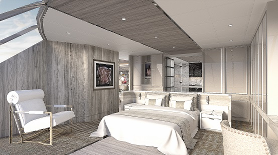 Celebrity Apex suite render