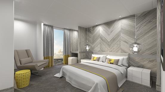 Celebrity Apex Iconic Suite render