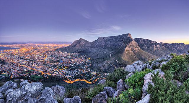 Cape Town & Exquisite Blue Train to Pretoria