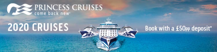 Princess Cruises 2020 Summer