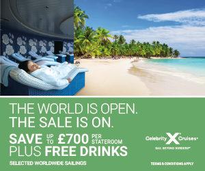 Celebrity Cruises Drinks Promo