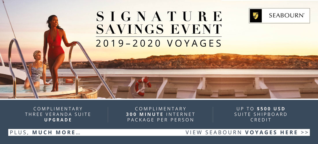 Seabourn Savings Event
