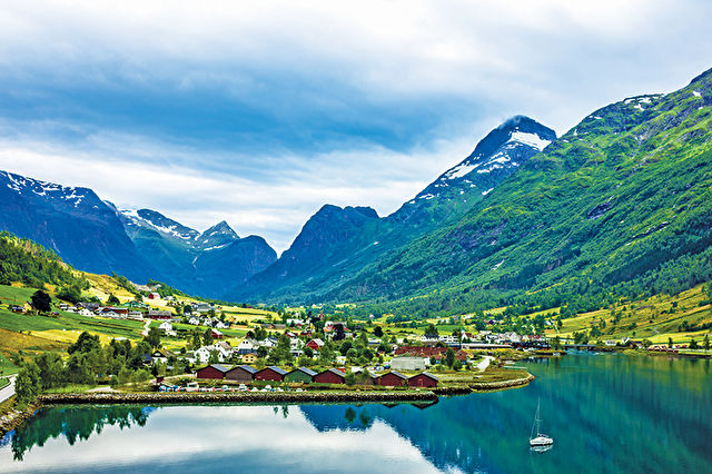 Scenic Fjords of Norway