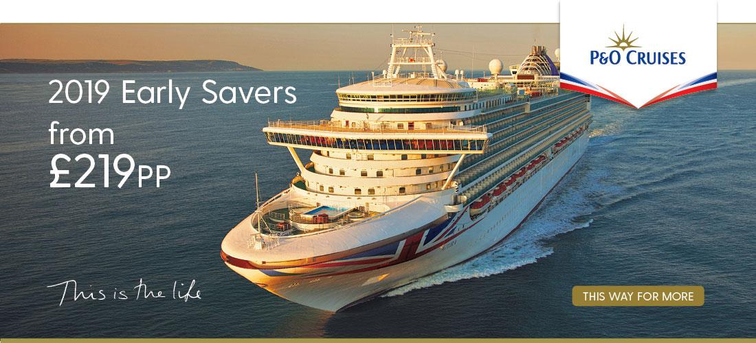 P&O Cruises 2019 Cruise Deals