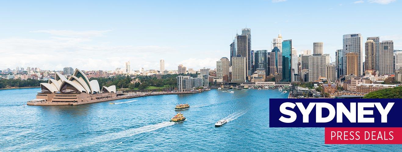 Sydney Press Deals