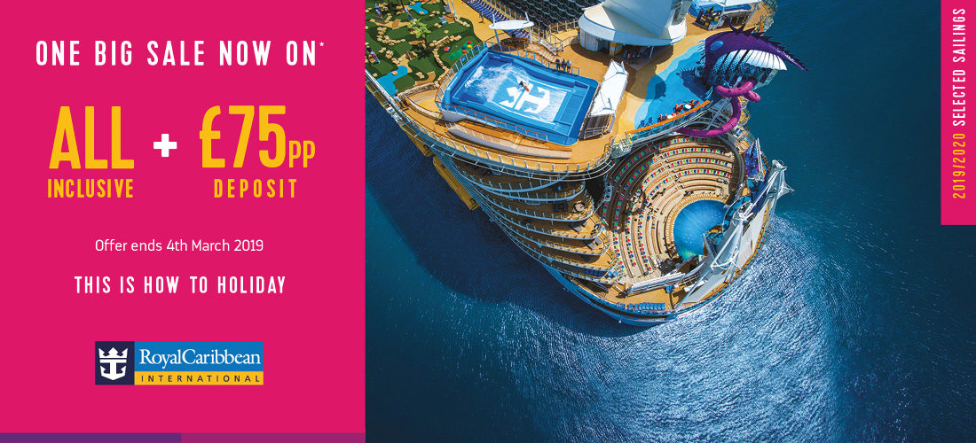 Royal Caribbean 2019 Cruise Deals