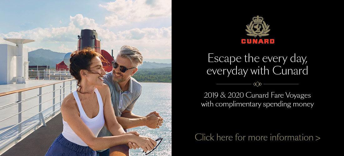 Cunard 2019 Cruise Deals