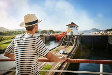 Já pensou em atravessar o Canal do Panamá a bordo de um navio Princess?