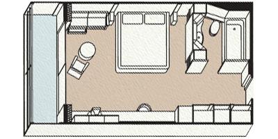 Cabina veranda suite