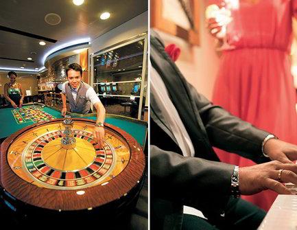 Casino y Piano Bar a bordo