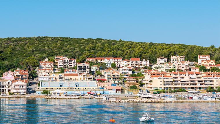 Cruceros por Argostoli, Grecia