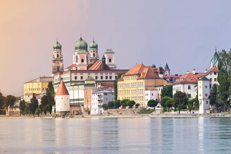 Cruceros por Passau,  Alemania