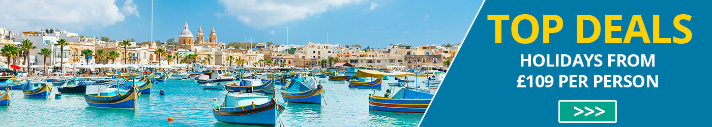 Spring holiday deals to Malta