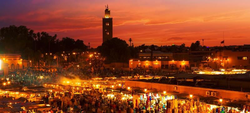 3. Jemaa El Fna At Night