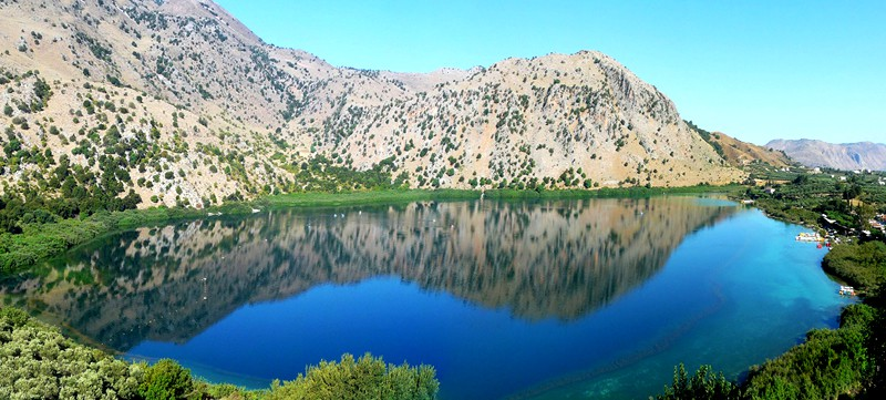 4) Lake Kournas: