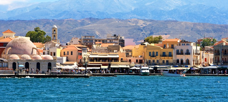 2) Chania Old Town & Harbour: