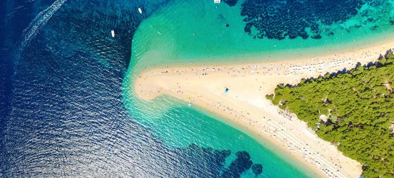 Zlatni, Brac Island: