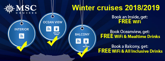 MSC All inclusive offers