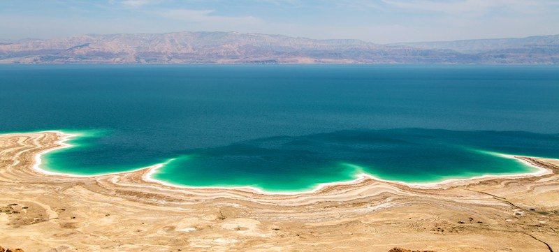 Experience The Salty Waters Of Dead Sea