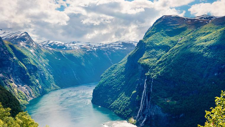 Cruceros por Geiranger, Noruega