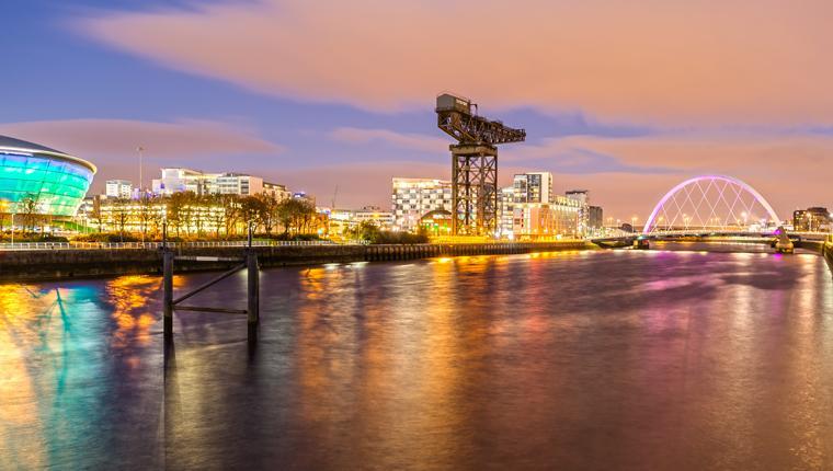 Cruceros por Greenock Glasgow, Escocia