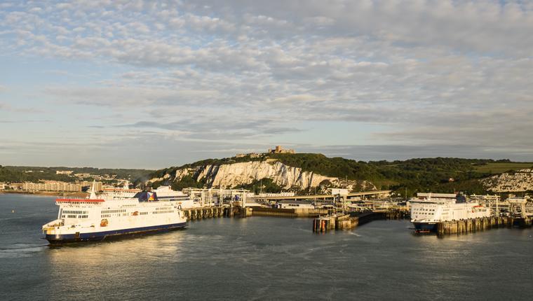 Cruceros por Puerto de Dover, Inglaterra