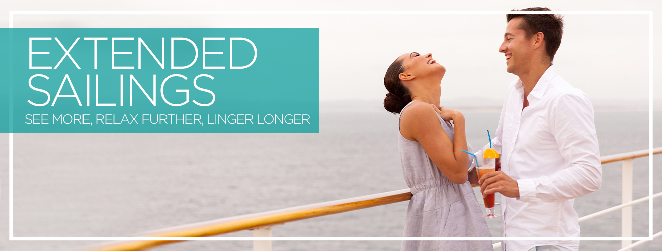 Extended Sailings (Over 30 nights)