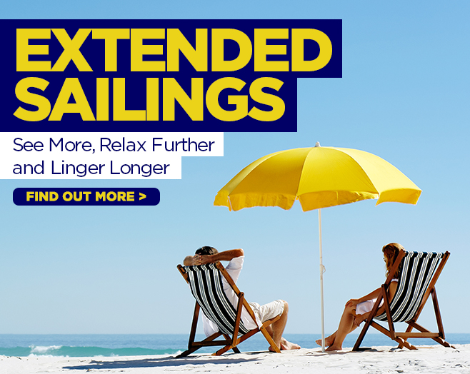 EXTENDED CRUISES long cruise deals