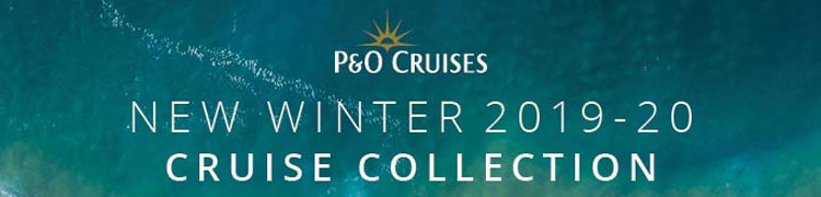 P&O Cruises Winter 2019-20 Collection is on sale now