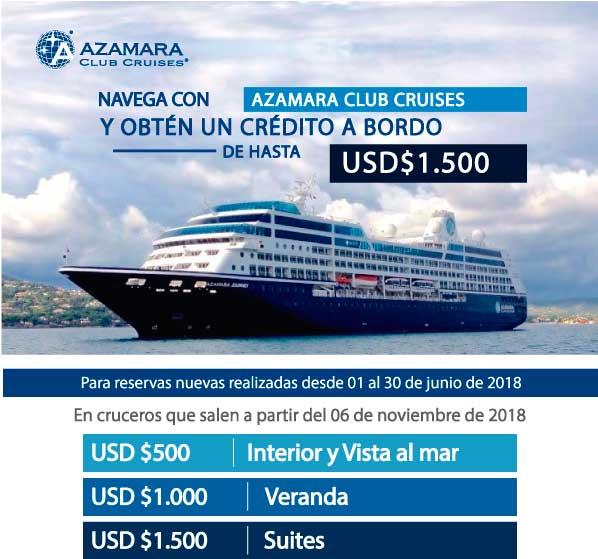 Oferta Azamara Cruises