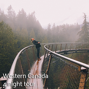 Western Canada 4 night tour
