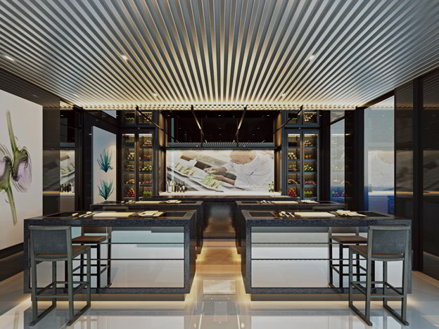 Gastronomía a bordo del Scenic Ocean Cruises
