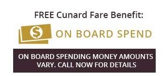 Cunard Winter 2020 benefits
