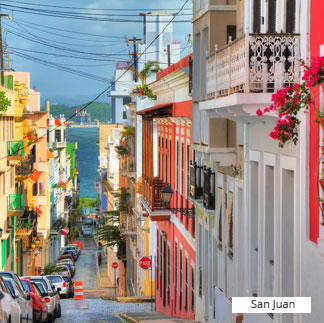 Destinations Caribbean San Juan