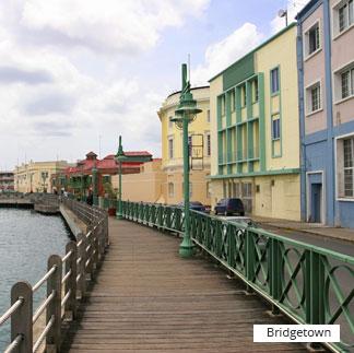 Destinations Caribbean bridgetown