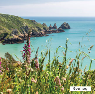 Destination from Uk, Guernsey
