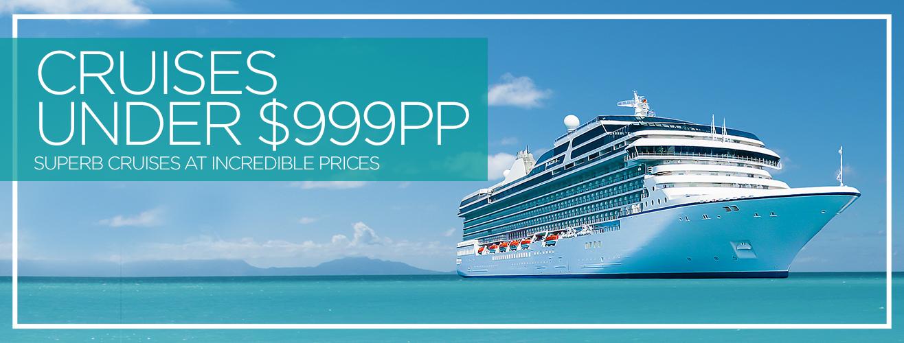 Cruise Deals Under $999