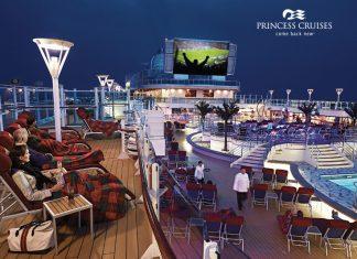 Jogos da Copa do Mundo serão transmitidos a bordo dos navios da Princess Cruises