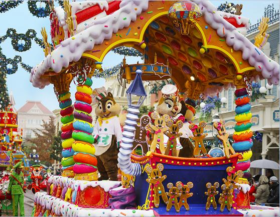 Disneyland Paris Enchanted Christmas